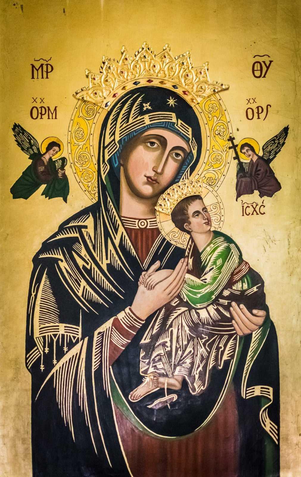 Obraz w kościele w Krobi