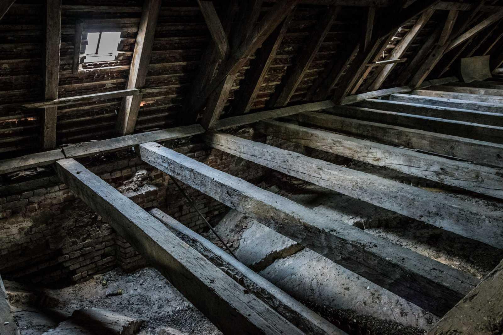 Poddasze kościoła św. Mikołaja w Krobi