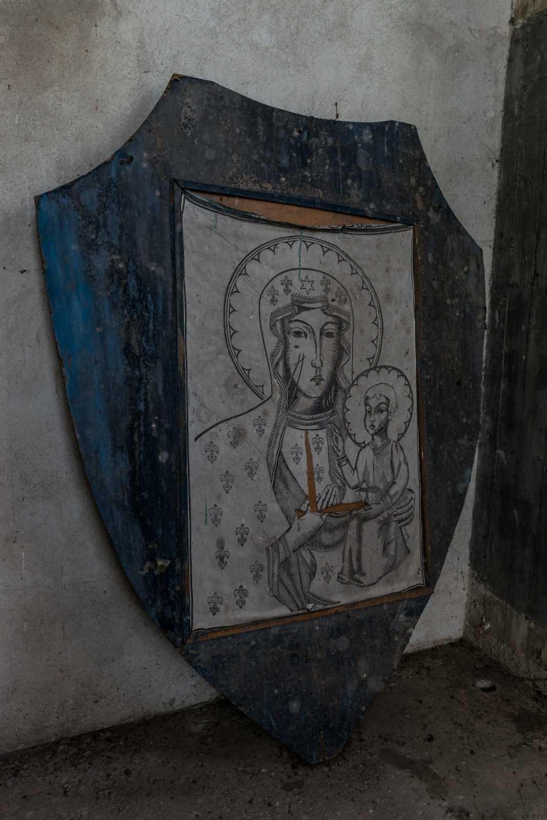W wieży kościoła św. Mikołaja w Krobi