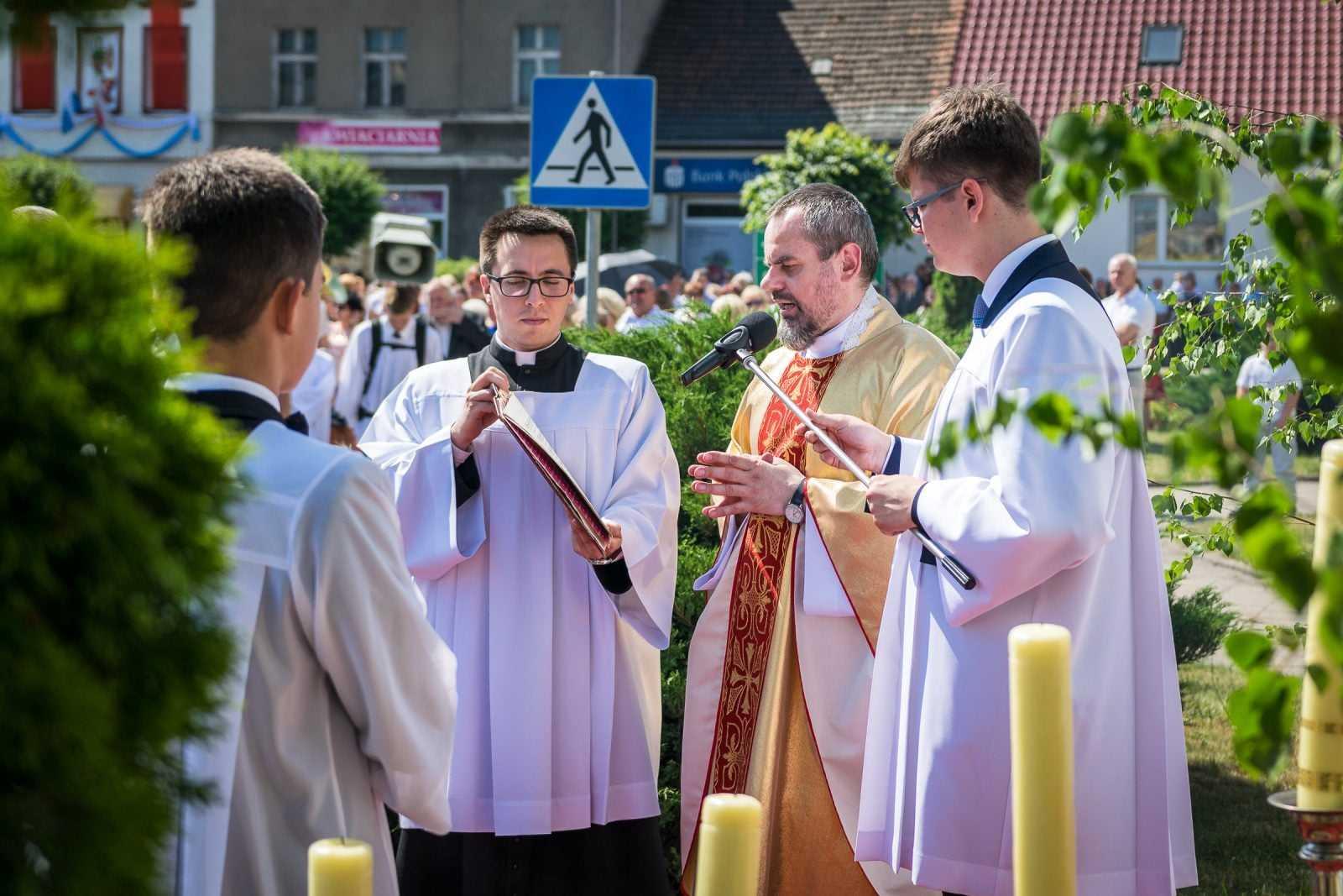 Uroczystość Najświętszego Ciała i Krwi Chrystusa Parafia Krobia