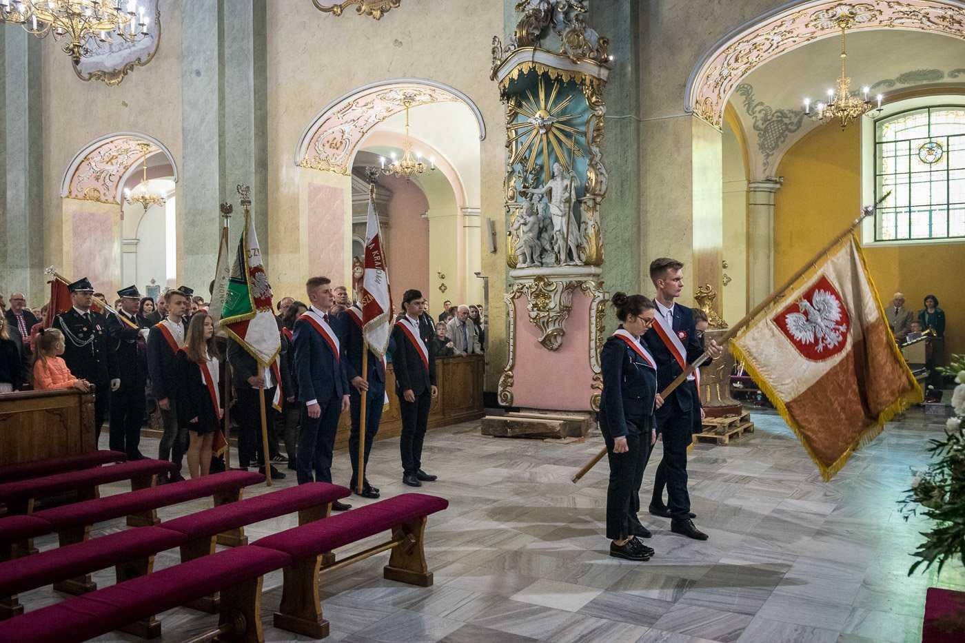 Uroczysta Msza św. za Ojczyznę Parafia Krobia
