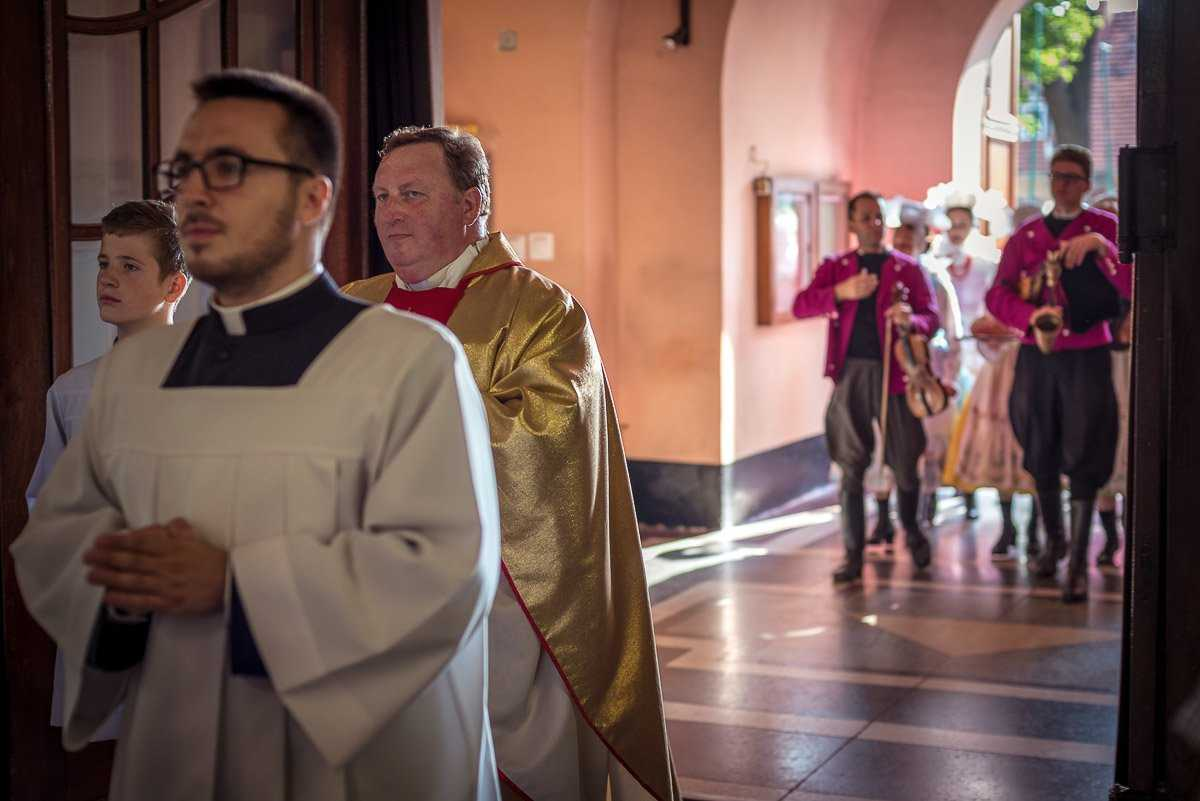 Dożynki parafia Krobia 2018