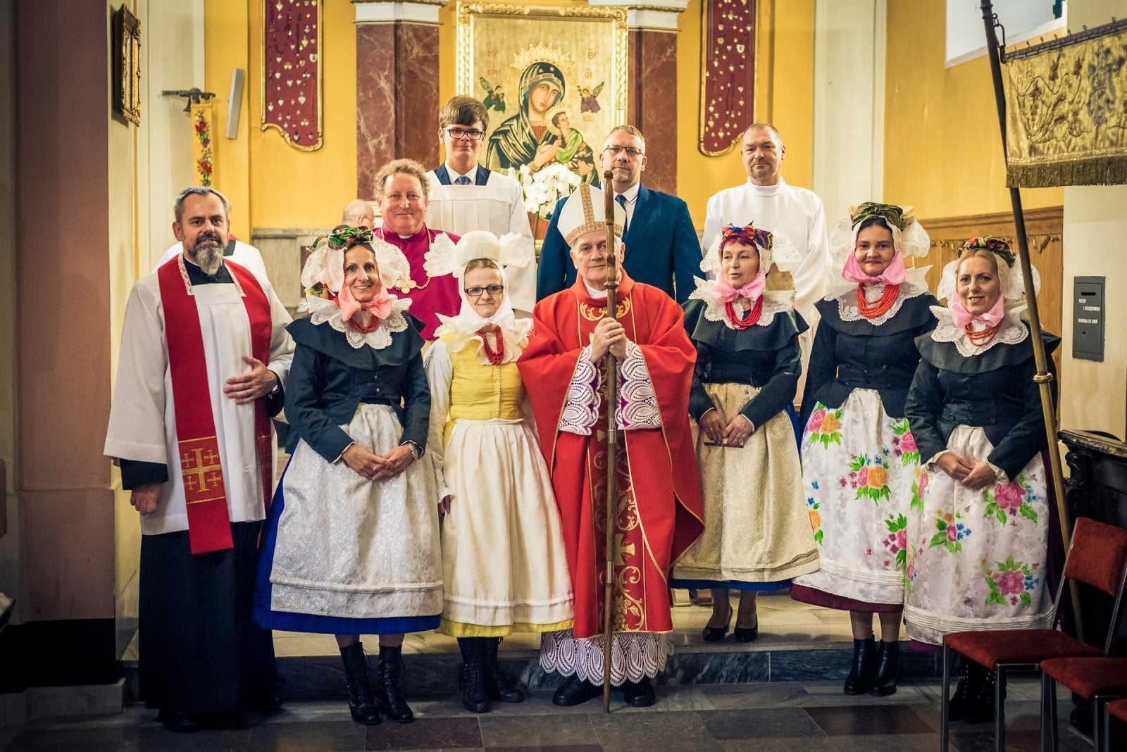 Sakrament Bierzmowania w parafii w Krobi